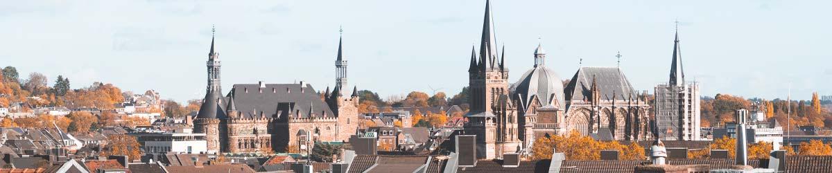 Stadtansicht Aachen