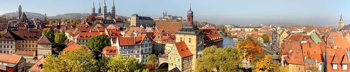 Stadtansicht Bamberg