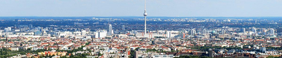 Blick über die Dächer von Berlin