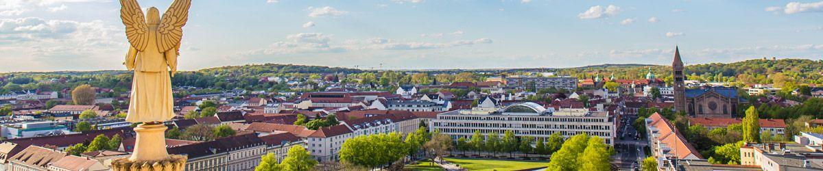 Blick über die Dächer von Brandenburg