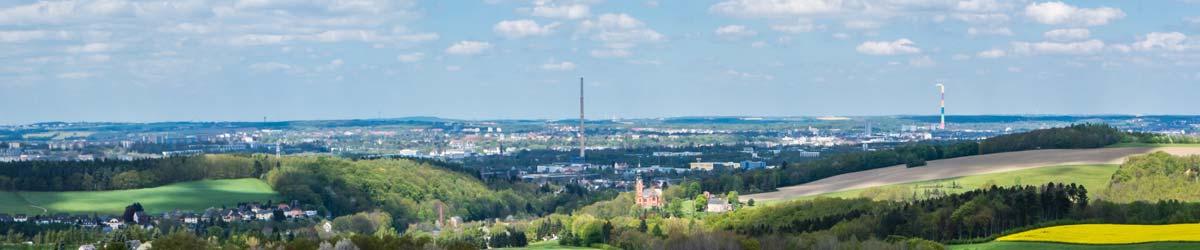 Aussicht auf Chemnitz