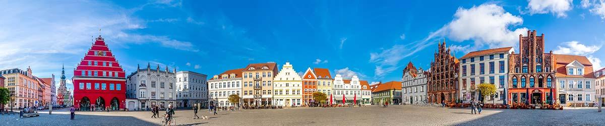 Stadtansicht Greifswald
