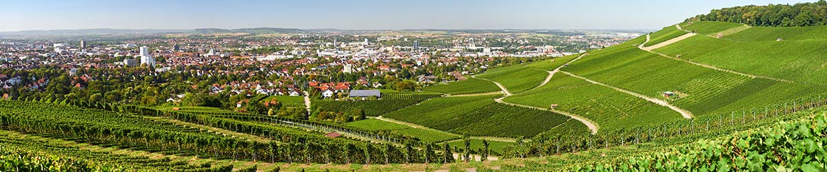Stadtansicht Heilbronn