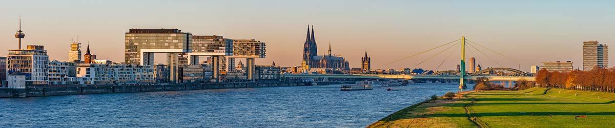 Stadtansicht Köln