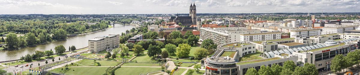 Stadtansicht Magdeburg