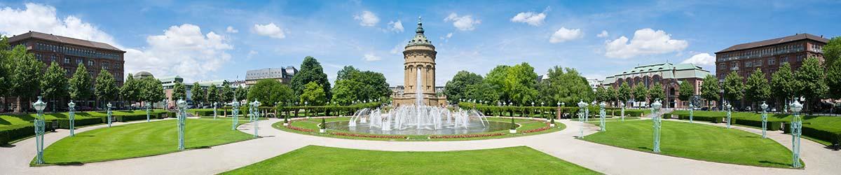 Stadtansicht Mannheim