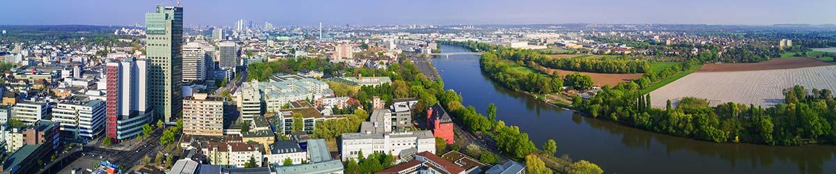 Stadtansicht Offenbach am Main