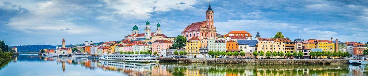 Stadtansicht Passau