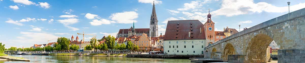 Stadtansicht Regensburg