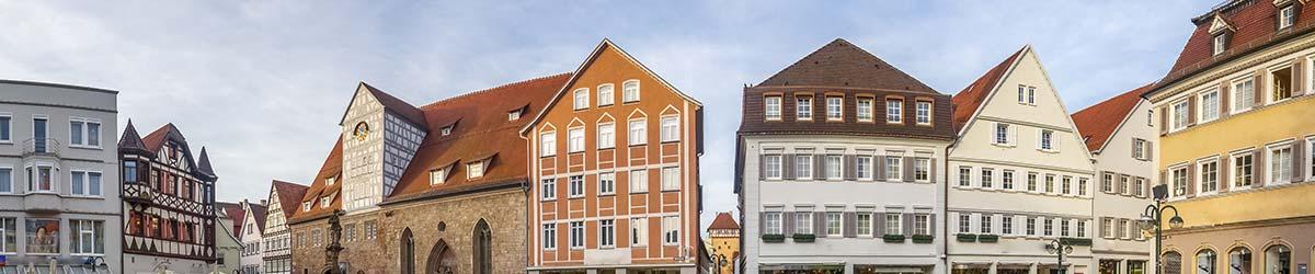 Stadtansicht Reutlingen