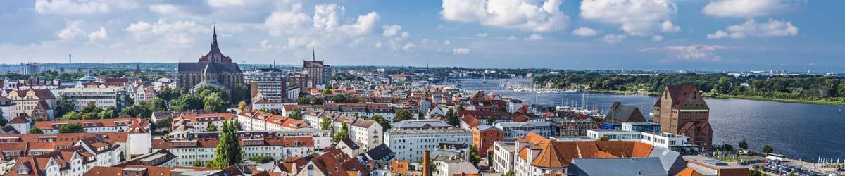 Stadtansicht Rostock