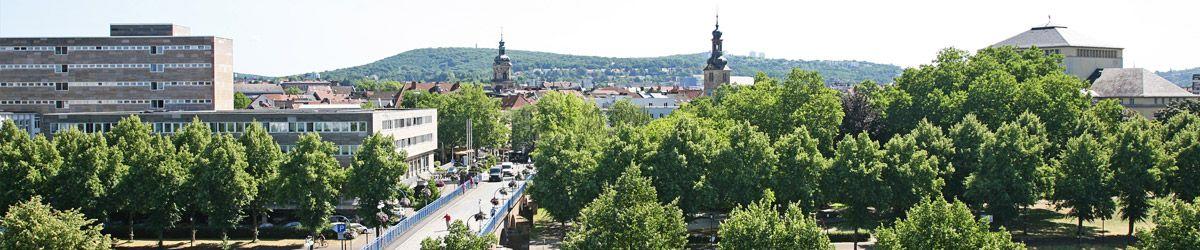 Blick über die Dächer von Saarbrücken