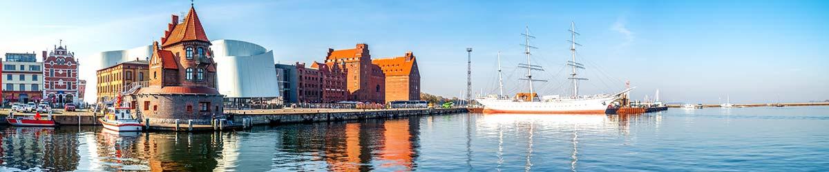 Stadtansicht Stralsund