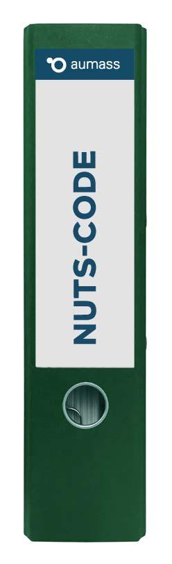 Grüner Ordner mit Nuts Code