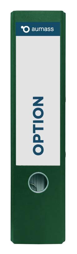 Grüner Ordner mit Option