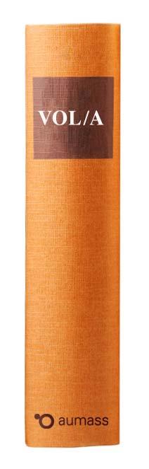 Buchrücken oranges Gesetzbuch mit Vergabeordnung für Lieferleistung VOL/A